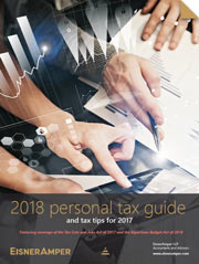 2018 EisnerAmper Tax Planning Guide